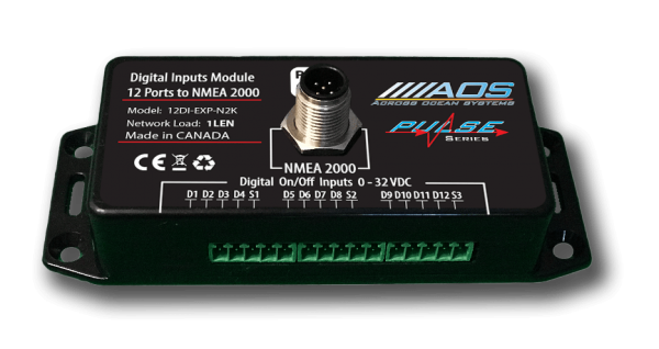 Digital Inputs to NMEA2000 module