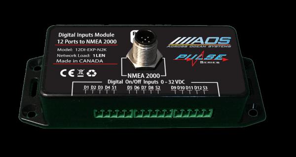 Digital Inputs to NMEA2000 module
