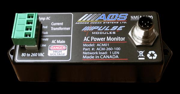 AC Monitor NMEA2000 - Optically isolated inputs