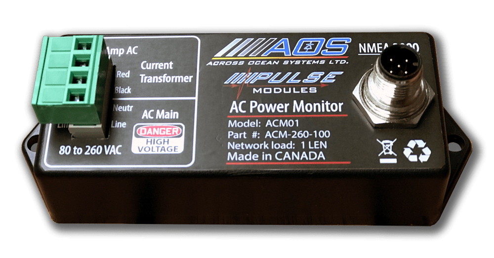 AC Monitor NMEA2000 - Optically isolated inputs